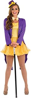 fun shack Womens Chocolate Factory Owner & Oompa Loompa Costumes - Choice of Styles