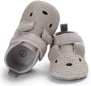 Infant Baby Boys Girls Cute Cartoon Slippers Warm Cotton Socks Anti Slip Soft Sole House Moccasins Newborn First Crib Shoes
