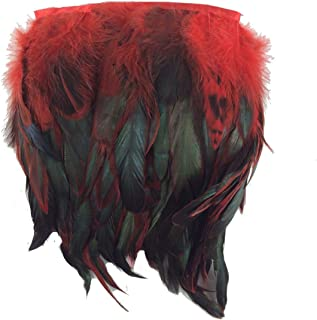 Sowder Rooster Hackle Feather Fringe Trim 5-7