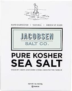 Traeger Pellet Grills & Jacobsen Salt Co. Pure Kosher Sea Salt, 1 Pound