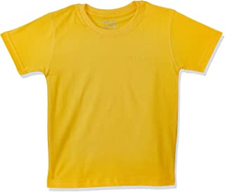 Skills Chest Embroidered Letters Short Sleeves Crew Neck T-shirt for Kids 12-13 Years