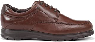 Fluchos | Zapato de Hombre | Zeta F0602 Soft Bristol Nuez Zapato | Zapato de Piel de Vacuno de Primera Calidad | Cierre co...