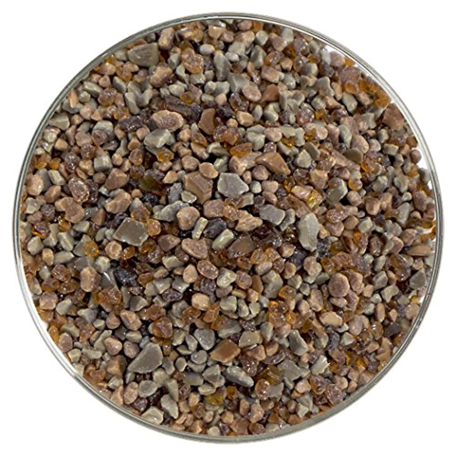 Cobblestone Coarse Frit Mix - 96COE - 4oz - Made From System 96 Glass