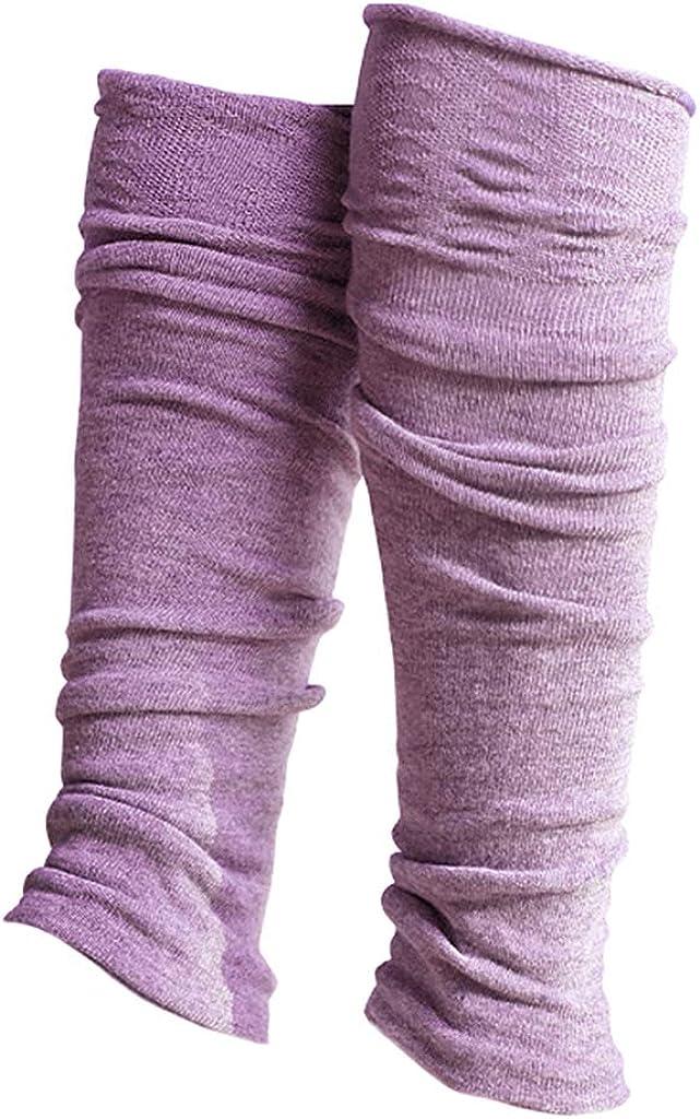 MagiDeal Pait of Women's Over Knee Warm Leg Warmers Thermal 80s Long Boot Socks Yoga Ballet Dance