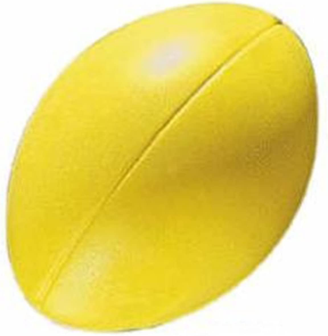 CreativeMinds Max 54% OFF UK Soft 100% quality warranty Sponge Rugby Yellow 2 Pack Balls of