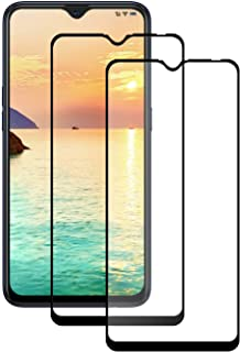 LPCJ [2-pack] för Samsung Galaxy M01s skärmskydd, Samsung Galaxy M01s skärmskydd i härdat glas, skärmfilm för Samsung Gala...