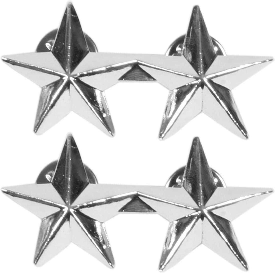 Normani Us Rangabzeichen Aus Metall Mit Nadelverschluss In Verschiedenen Ausführungen Farbe General Sport Freizeit