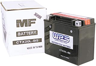 WPS Factory Activated Maintenance Free Sealed Battery CT12A-BS