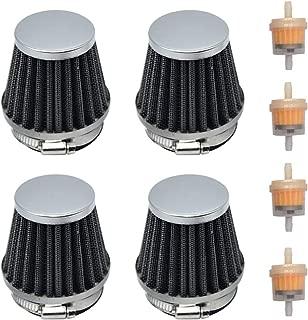 Karbay 4x 54mm Air Pod Intake Filters For Honda CB750 900 Kawasaki KZ1000 Suzuki Gs1100