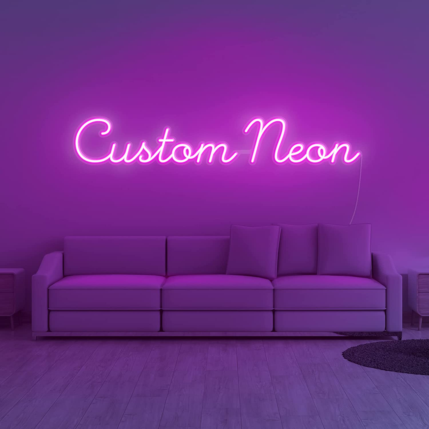 OFFicial site Vibez Customized Neon Sign: Create Your Logo A Colorful 5% OFF Wall Own