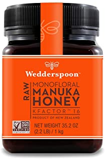 Best Wedderspoon Raw Premium Manuka Honey 16 35.2 Ounce Review