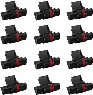 شريط بديل متوافق أكبر (12 حزمة) لشريط حبر IR-40T CP13 MP-12D أشرطة طابعة بكرة الحبر حاسبة تستخدم مع كانون ، شارب EL-1750V...