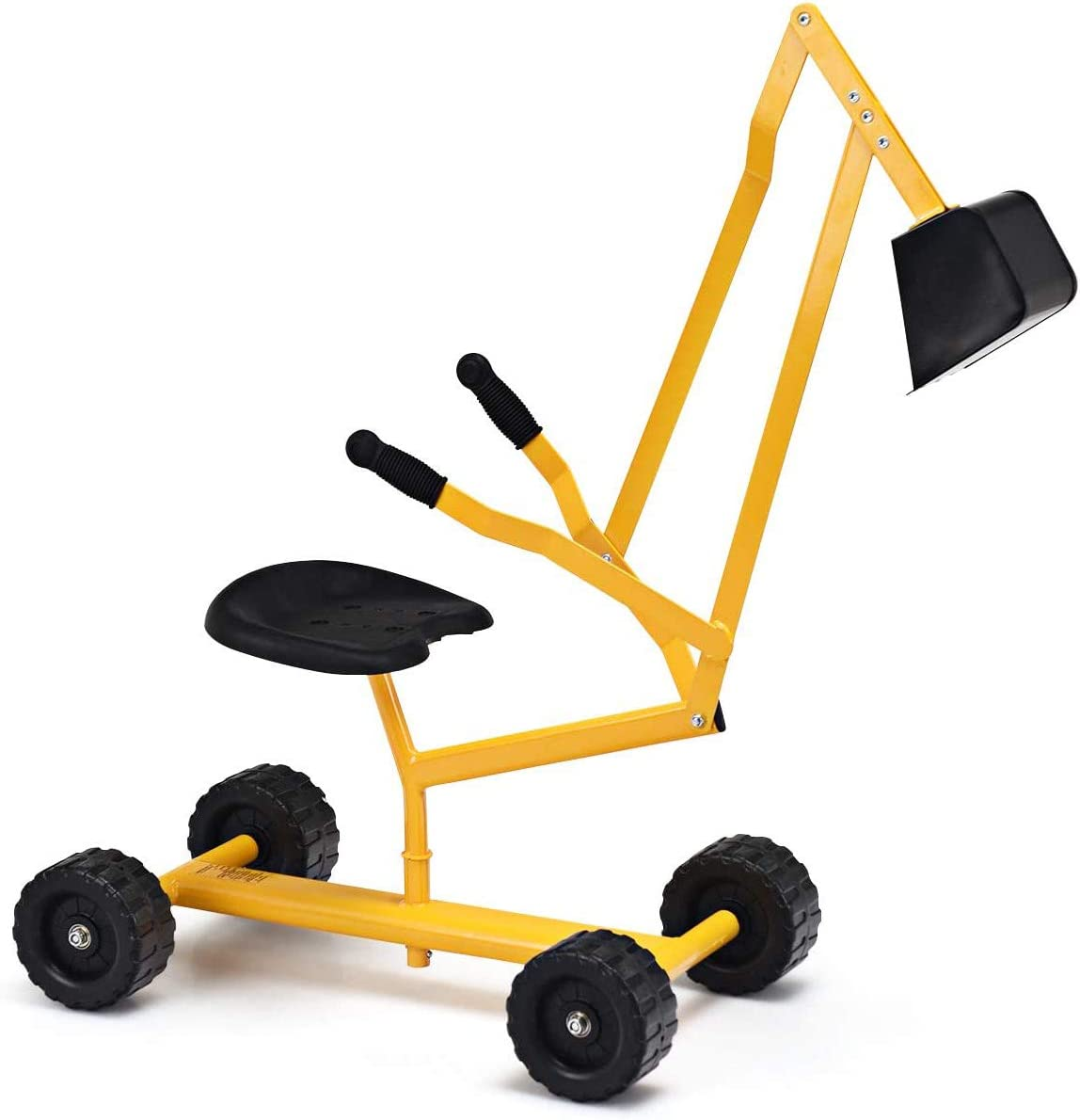 GLACER Kids Albuquerque Mall Los Angeles Mall Sand Digger with Wheels Excavator Sandbox Cr
