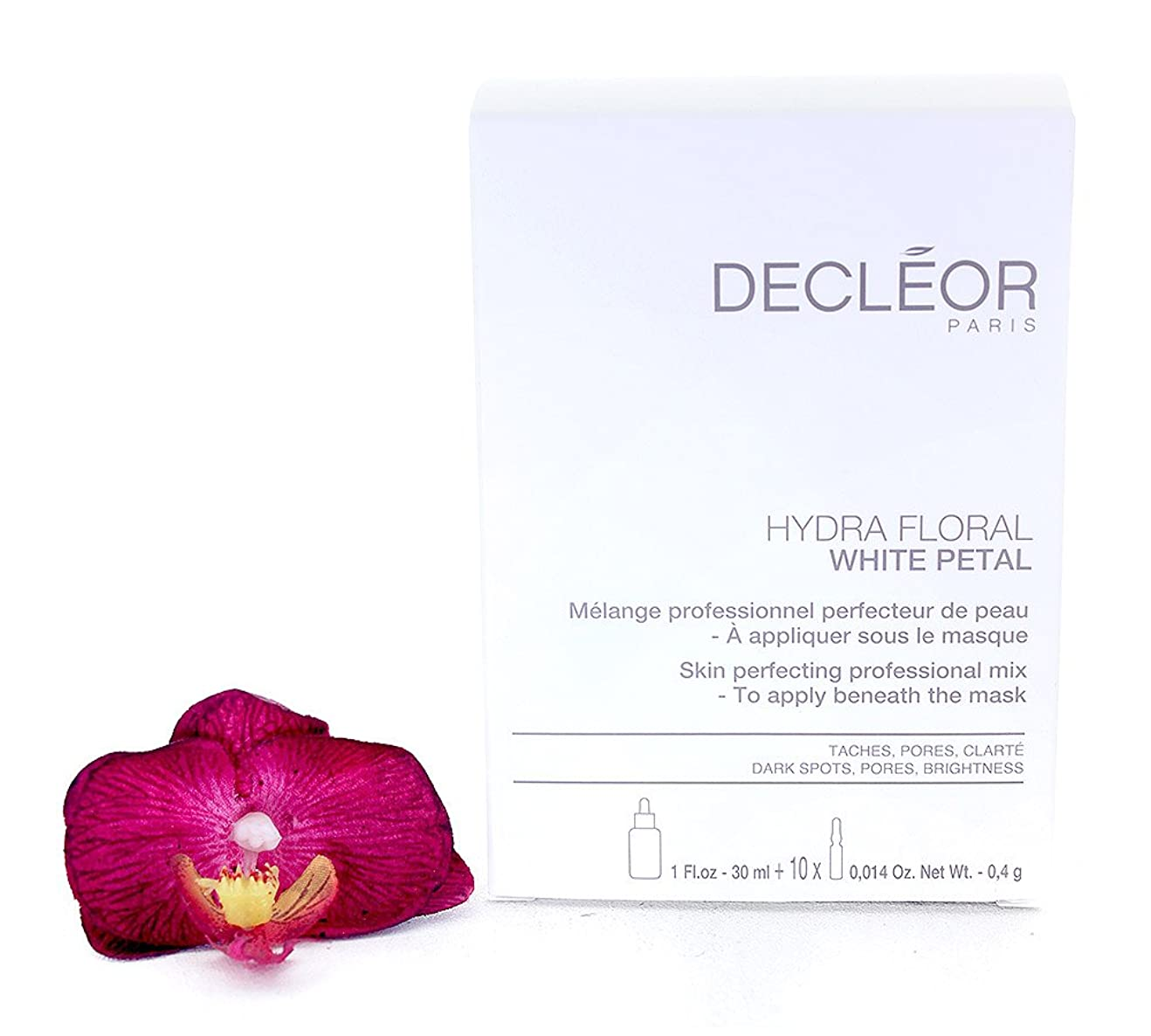 急降下区画お尻デクレオール Hydra Floral White Petal Skin Perfecting Professional Mix (1x Concentrate 30ml, 10x Powder 4g) - Salon Product -並行輸入品