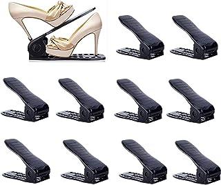 YIHATA Organizador Zapatos Organizador de Zapatos Organizador Calzado Apilable Apilador de Zapatos Soportes para Zapatos(1...