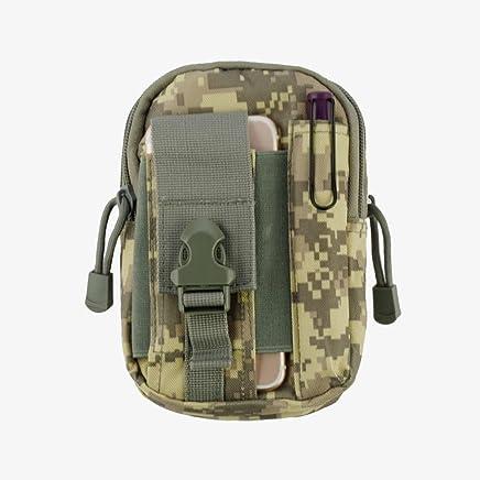 Cinturón de bolsillo resistente para actividades deportivas de lona para Kyocera DuraForce Pro, Cadence LTE, Hydro Reach, Brigadier, DuraXV LTE, Hydro Wave Air Life (ACU) + Mini lápiz capacitivo MND