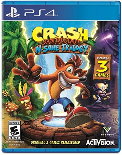 Crash Bandicoot N. Sane Trilogy – PlayStation 4 Standard Edition