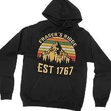 Fraser's Ridge Est 1767 Vintage Hoodie Long Sleeve Shirt Outlander
