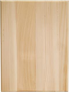 Walnut Hollow 1914 Pine Rectangle Plaque, 9 by 12 by 0.63-Inch
