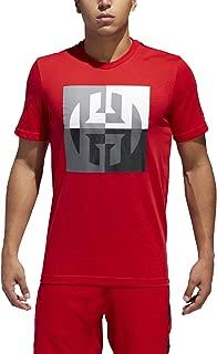 adidas Mens Harden Logo Tee
