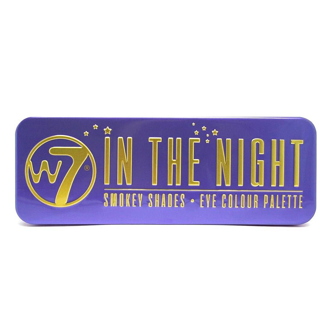 失効広まった賢明な(3 Pack) W7 In The Night Smokey Shades Eye Colour Palette (並行輸入品)