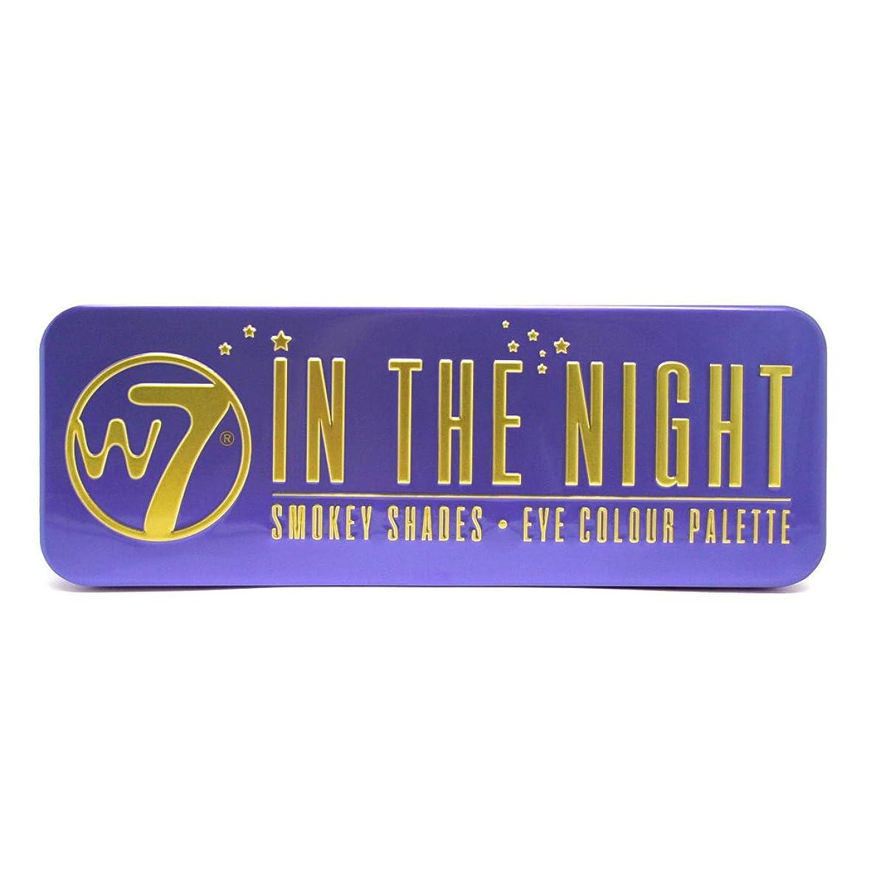突き出すオプショナル番号(6 Pack) W7 In The Night Smokey Shades Eye Colour Palette (並行輸入品)