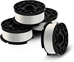 Black and Decker AF-100 Weed Eater Spool,30 Feet/0.065 Inches Line String Trimmer Autofeed System Replacement Spool, 4-Pack
