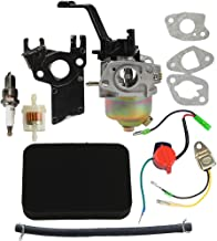 HIPA Carburetor with Air Filter Tune Up Kit for Honda GX120 GX160 GX200 168F 5.5HP 6.5HP 163cc 196cc Engine Generator