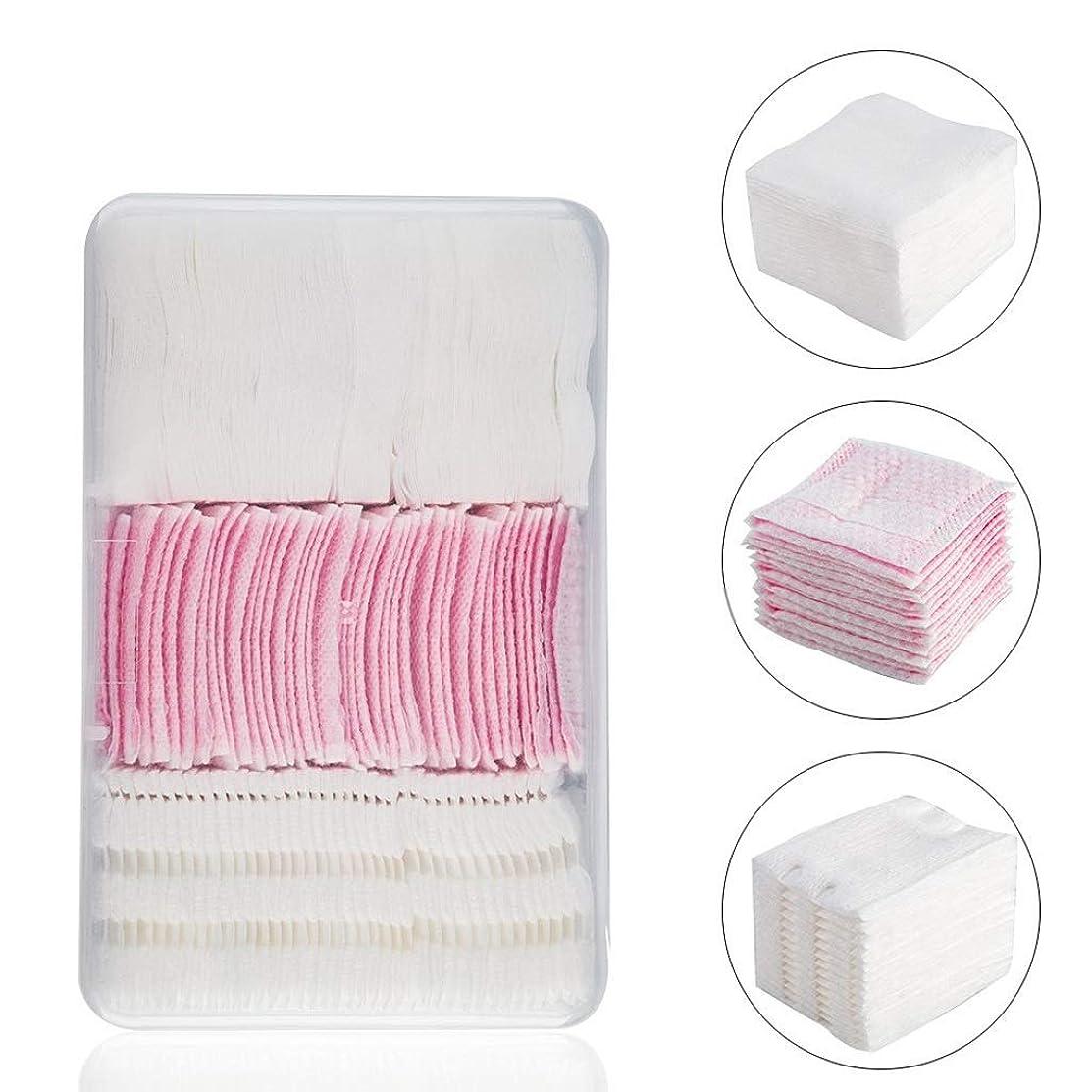 邪魔朝の体操をする多用途クレンジングシート コンビネーション使い捨て厚い綿パッド薄いパッドクリーニングワイパーリムーバーソフト多層クレンジングタオルタオルパッド (Color : White or Pink)