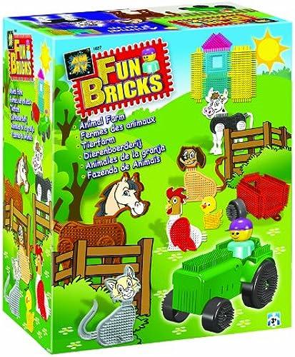 Fun Bricks 1627  Zoo Set  ( wie Nopper )
