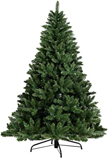 1.8M Christmas Tree 6FT Xmas Faux Green Tree Thick Foliage Jingle Jollys Holiday Decoration Indoor Décor Home Office Class...