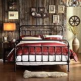 Weston Home Nottingham Metal Spindle Bed