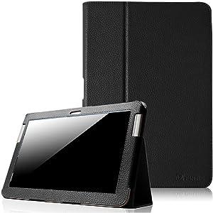 Fintie Slim Fit Folio Case Cover for Samsung Galaxy Tab 2 10.1 inch Tablet - Black