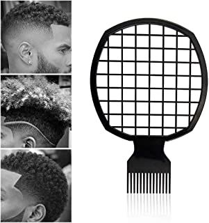 Afro Twist Comb Portable Two-In-One Hair Comb for Natural Twists Curls Coils Dreads Hair Styling Tool for Black African (Thicker)