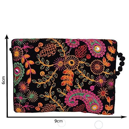 VH VINOD HANDICRAFTS Women's Jaipuri Sling Bag (Multicolored)