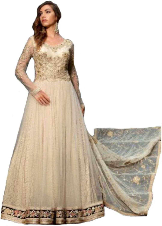 Designer Party wear Gown Anarkali Salwar Kameez Suit Dupatta Ceremony