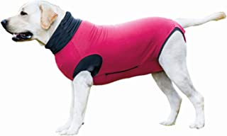MAXX Dog Recovery Suit E Collar Alternative Medical Pet Clothing for Dogs & Cats After Surgery Wear Abdominal Wound Protector Post Operative pet wear Anti Anxiety Vest by vets