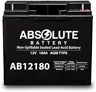 AB12180 12V 18AH Electric Bicycle Co EV Warrior Bike Battery