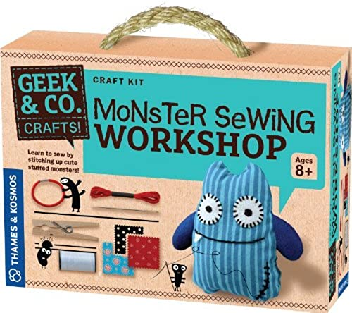 marcas en línea venta barata Thames and Kosmos Monster Sewing Workshop by Geek Geek Geek & Co. Craft  Envio gratis en todas las ordenes