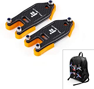 iFlight 2 Set FPV Drone Lock Mount for Backpack Plug-in Accessories DIY Bundle Mount Hanging Buckle with 4pcs Battery Straps 20X200mm and 20x250mm for FPV Quadcopter
