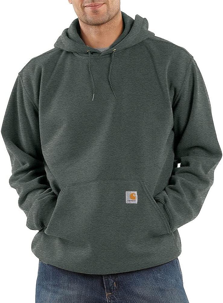 Carhartt Men's Midweight Original Fit Hooded Pullover Sweatshirt K121