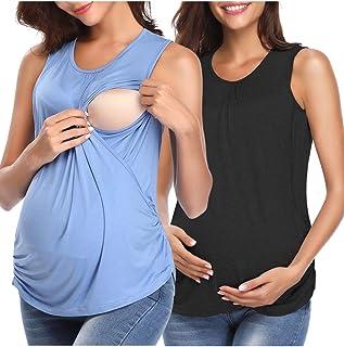 Derssity Women Nursing Tank Tops,Nursing Tops for Maternity Breastfeeding Clothes