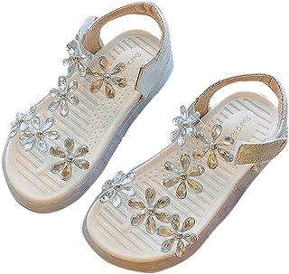 Hopscotch Girls PU Applique Floral in Silver Color