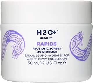 H2O+ Beauty Rapids Probiotic Sorbet Facial Moisturizer Lotion with Champagne and Yuzu Extracts, 1.7 ounce