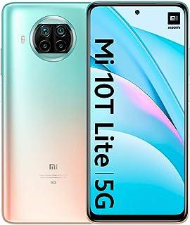 "Xiaomi Mi 10T Lite 5G - Smartphone 6+64GB, 6,67"" FHD+ DotDisplay, Snapdragon 750G, Cámara cuádruple de 64 MP con IA, 4820 mAh, Rose Gold Beach (Versión oficial), con Alexa Hands-Free"