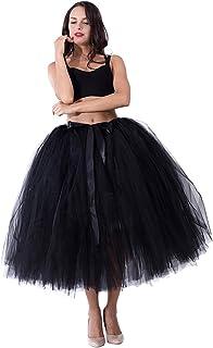 تنورة Kephy حريمي من التل توتو للنساء 31.5 بوصة طويلة التصوير الفوتوغرافي لحفلات الزفاف