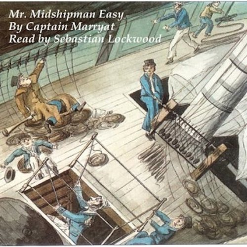 Mr. Midshipman Easy audiobook cover art