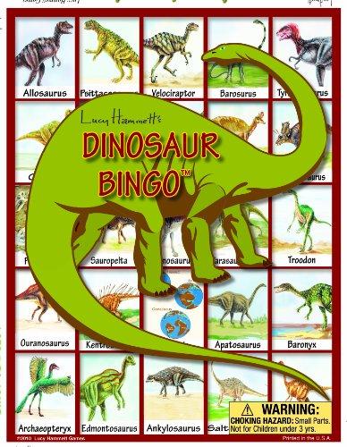 Lucy Hammett Games Dinosaur Bingo Board...