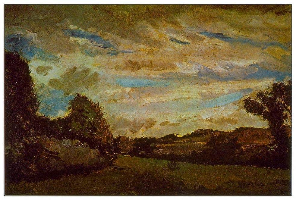 ArtPlaza TW90642 Van Gogh Vincent-Dunes Decorative Panel, 39.5x27.5 Inch, Multicolored
