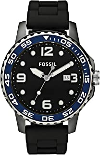 Fossil Men's FSCE5004 GTS Diver Black Dial Watch